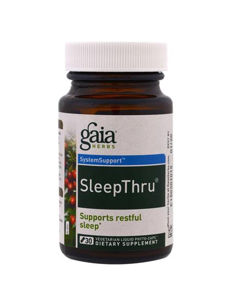 GAIA HERBS Sleep Thru Caps 30s