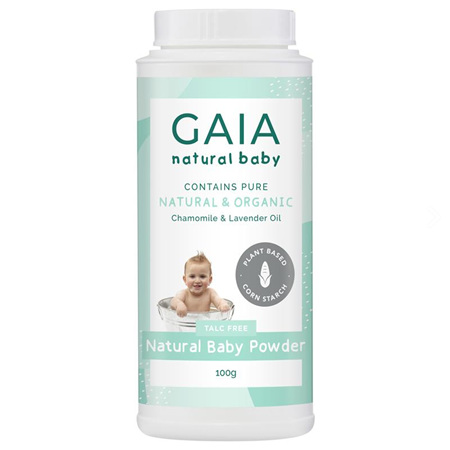 GAIA  NATURAL BABY POWDER 100G