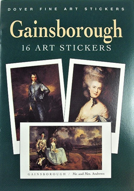 Gainsborough: 16 Art Stickers
