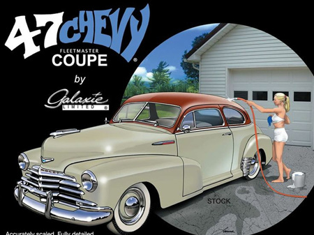 Galaxie 1/25 1947 Chevrolet Coupe