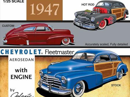 Galaxie 1/25 1947 Chevrolet Country Club Aerosedan