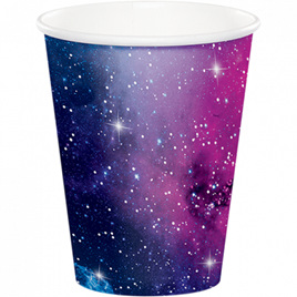 Galaxy cups x 8