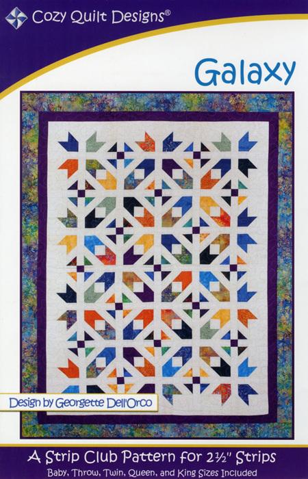 Galaxy Quilt Design