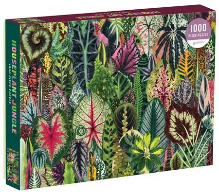 Galison 1000 Piece Jigsaw Puzzle: House Plant Jungle