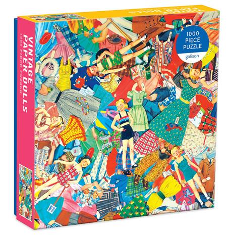 Galison 1000 Piece Jigsaw Puzzle: Vintage Paper Dolls