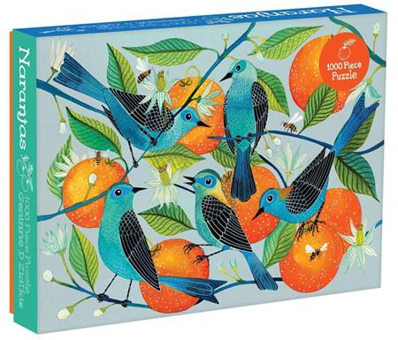 Galison 1054 Piece Jigsaw Puzzle: Naranjas (Oranges)