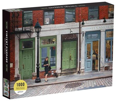 Galison 1054 Piece Jigsaw Puzzle: Vincent Giarrano -  New York