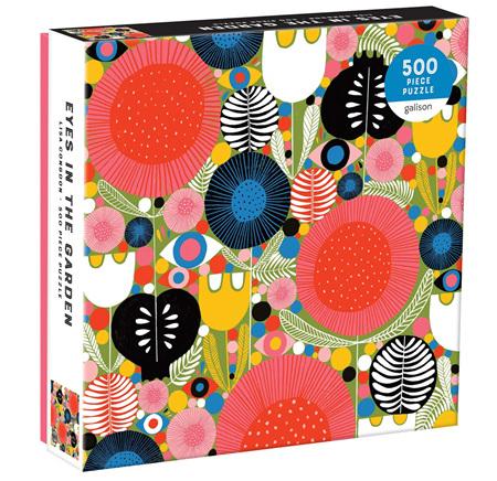 Galison 500 Piece Jigsaw Puzzle: Eyes In The Garden