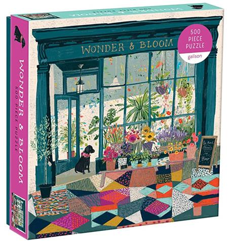 Galison 500 Piece Jigsaw Puzzle: Wonder & Bloom