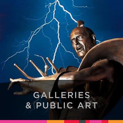 Galleries & Public Art