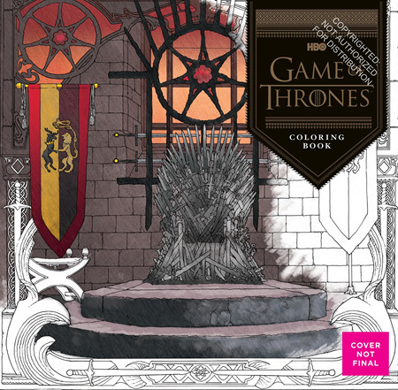 Game of Thones Colouring