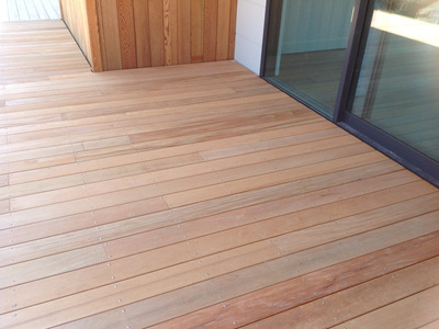 Garapa FSC™ Solid Decking 140x19mm
