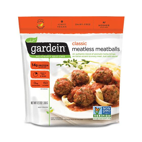 Gardein Classic Meatless Meatballs