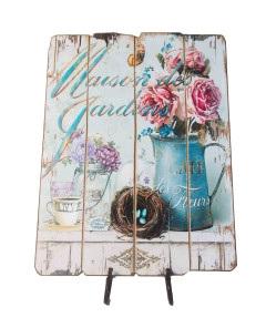 Garden Cafe Plaque