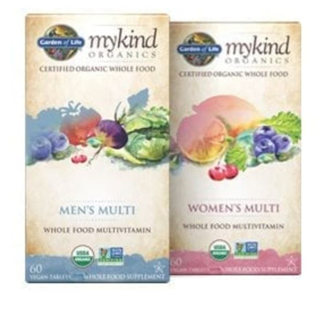 Garden Of Life My Kind Organics Whole Food Once A Day Multi Tabs