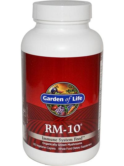 Garden of Life, RM-10, Immune System Food, 60 Veggie Caplets