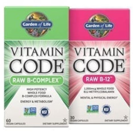 Garden Of Life Vitamin Code Raw Range