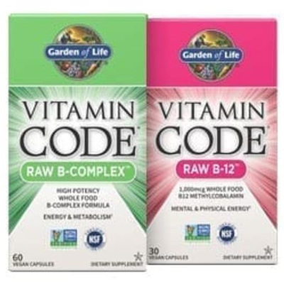 Garden Of Life Vitamin Code Raw Range