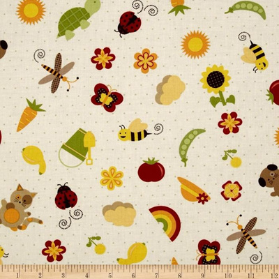 Garden Patch - Cream