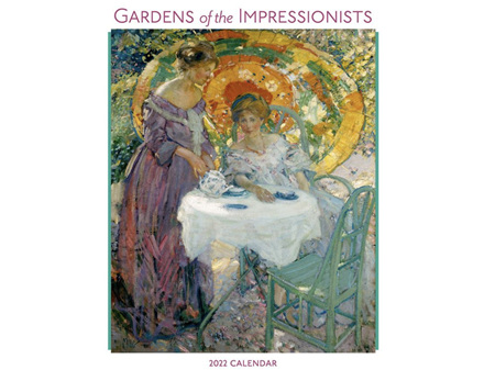Gardens of the Impressionists 2022 Wall Calendar by Pomegranate