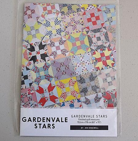 Gardenvale Stars by Jen Kingwell