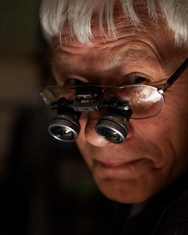 Gary Chapman a.k.a The Silver Fox, one of New Zealand's jewellery greats
