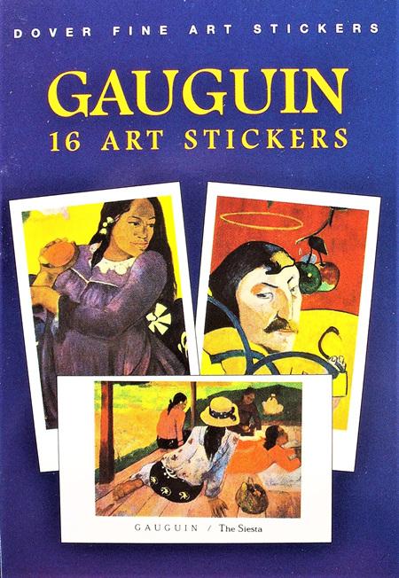 Gauguin: 16 Art Stickers