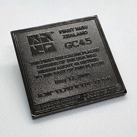 GC45 Tribute Black Edition LE Geocoin