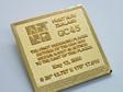 GC45 Tribute Gold XLE Geocoin