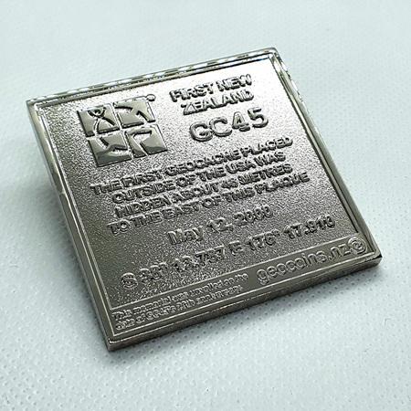 GC45 Tribute Shiny Edition LE Geocoin