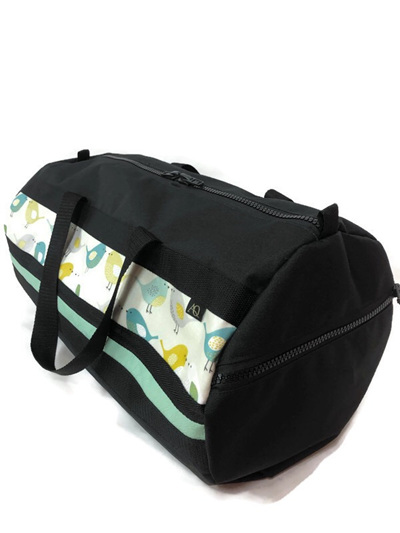 Gearbag Medium - teal bird