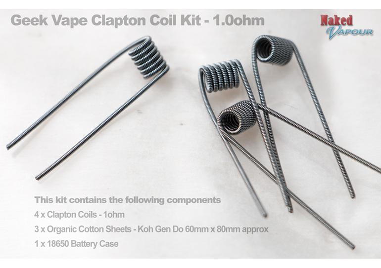 Geek Vape Clapton Coil Kit - 1.0ohm