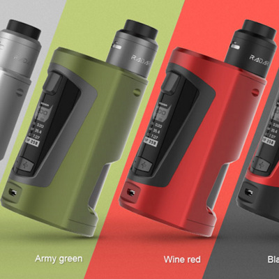 Geekvape - GBOX Squonk 200W Mod Kit with Radar RDA Atomizer