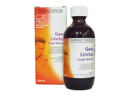 Gees Linctus 200ml