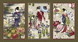 Geisha Charm Cream Panel