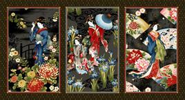 Geisha Charm Panel