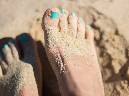 Gel Toe Nails
