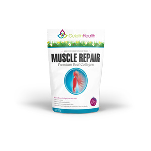 Gelatin Health - Protein Fortification - Muscle Repair - 2 sizes available