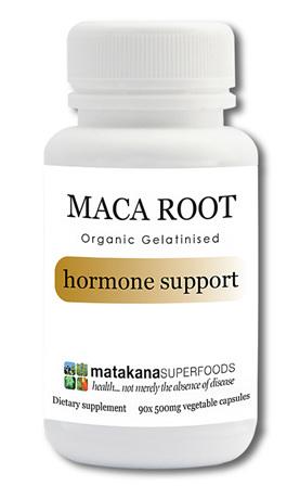 Gelatinised Organic Maca Root Capsules