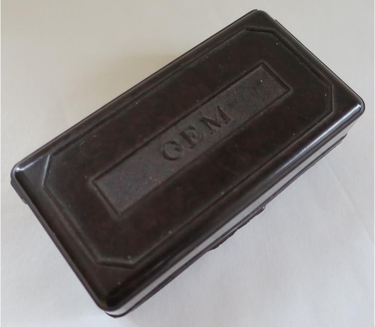 Gem shaver box