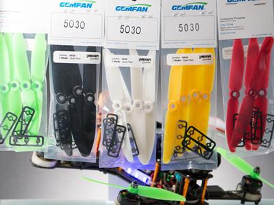 Gemfan - 5030 - 2 Blade - Quad Pack - NG
