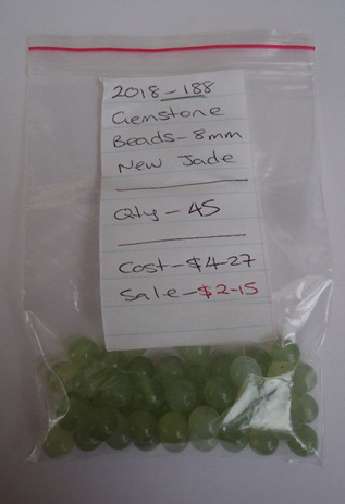 Gemstone Beads - New Jade - 8mm