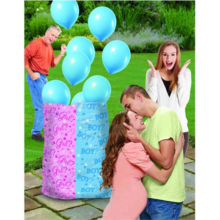 Gender Reveal balloon bag - boy or girl available