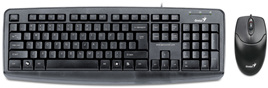 Genius Wired Desktop Keyboard - USB (Black)