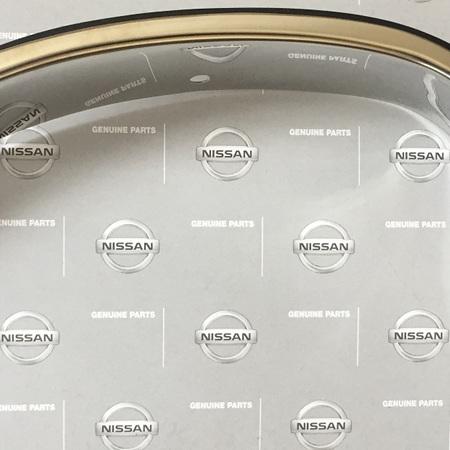 Genuine Datsun 1200 Chrome Grill / Headlight Surrounds