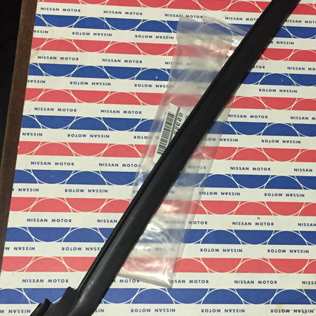 Genuine Pillarless Coupe Rear Window Weatherstrip