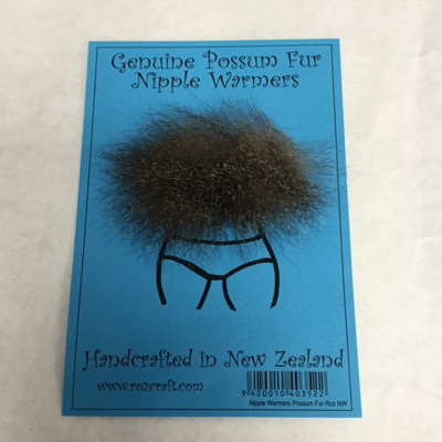 Genuine Possum Fur Nipple Warmers