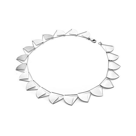 Geometric Sun Necklace