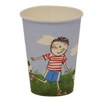 Georgie Porgy soccer cups
