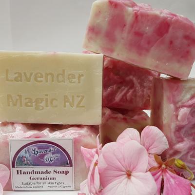 Geranium - Handmade Soap